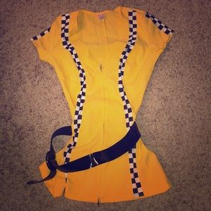 Dreamgirl Dresses - Sexy taxi driver Halloween costume - Large